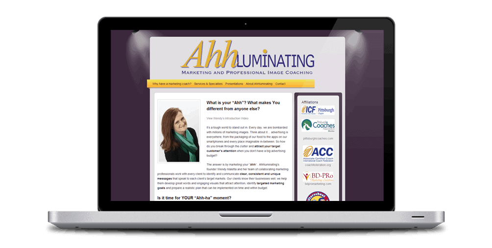 Ahhluminating marketing coach