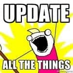 Update all the things