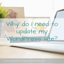 Why do I need to update my WordPress website?