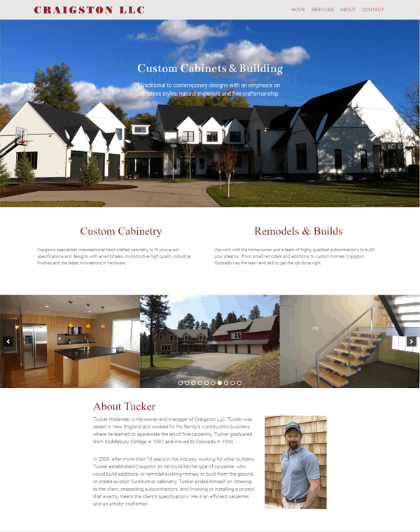 Craigston Colorado website