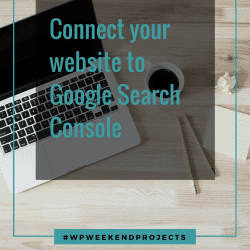 Connect your website to Google Search Console