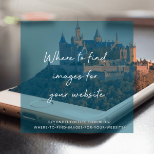 Where to find images for your website