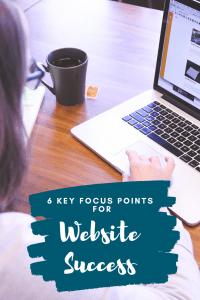 Key Focus Pints for Website Success